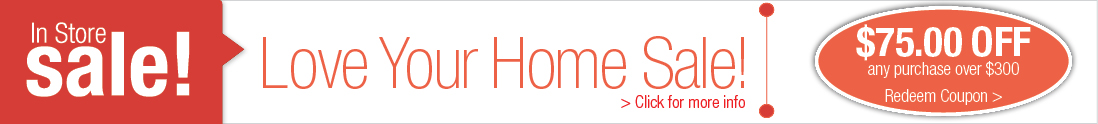 Love Your Home Sale