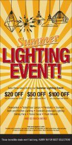 Summer Lighting Sale