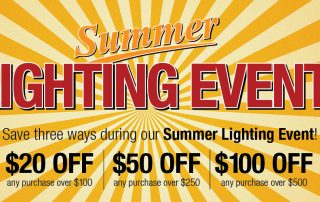 Summer Lighting Sale