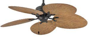 Hinkley 901952FMB-NWD Tropic Air 52 inch Matte Black with KOA Blades Ceiling Fan
